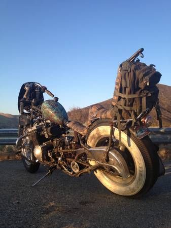 """""""The Bandit"""" Rat Bike, oh my gosh does anyone else think of """"Easy Rider""""?"""