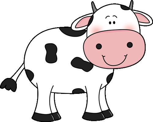 Cow With Black Spots Clip Art Cow With Black Spots Image Cow Clipart Cartoon Cow Cow Art