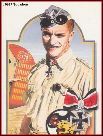 Hauptmann Hans Joachim Marseille- ww2
