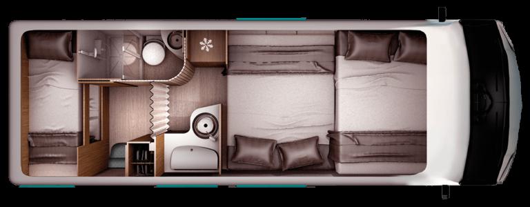 Miete ein Wohnmobil mit Sitzlounge für 6 Personen (mit