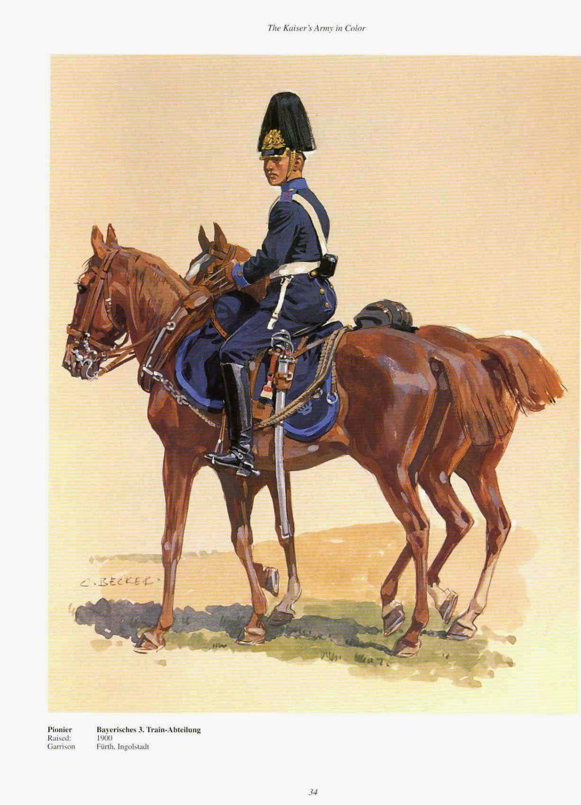 Miniaturas militares por alfons c novas uniformes for Depot bayreuth