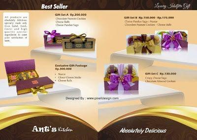 Contoh Brosur Kue Patisserie Contoh Iklan Produk Dan Jasa