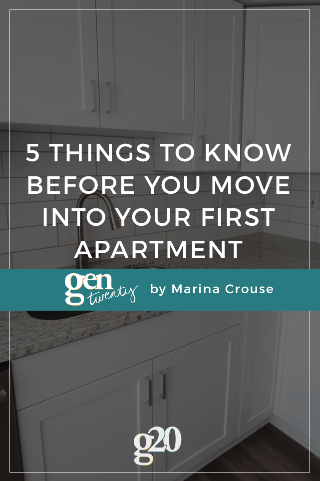 Five Things to Know Before You Move into Your First ...