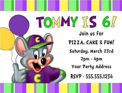 Chuck E Cheese Birthday Party Invitations – Chuck E Cheese Birthday Party Invitations