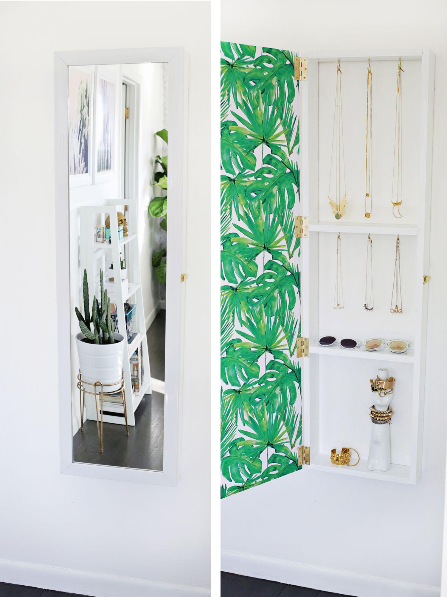 102 Best Tips To Get Your Home Super Organized. Mirror Jewelry StorageHidden  ...