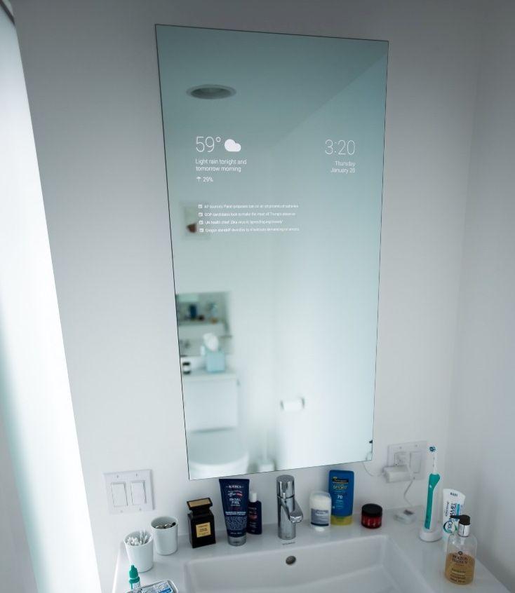 Diy Smart Bathroom Mirror Badezimmerspiegel Hausgerate Kleine