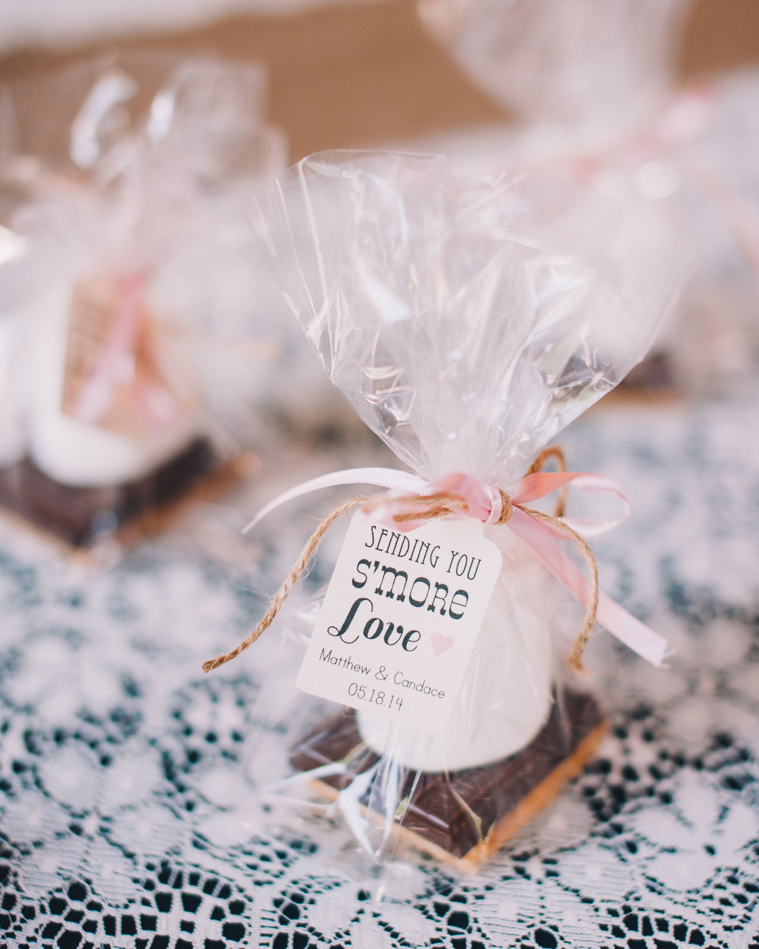 Candace and I (her Mom) made these favors...S\'mores...) | 18 party ...