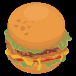 Hamburger Icon Food Graphic Image Icon Background Design