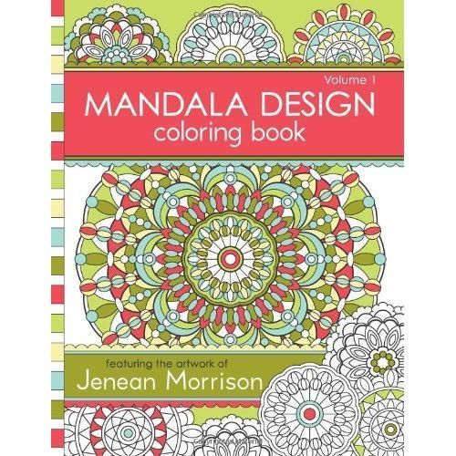 FREE 2 DAY SHIPPING Mandala Design Coloring Book Volume 1 Paperback