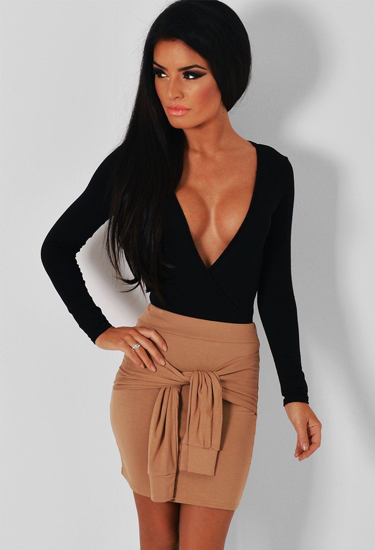 camel tie sleeve skirt - Google Search