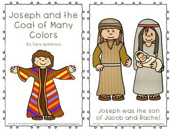 emergent easy reader book joseph and the coat of many colors - Coat Of Many Colors Book