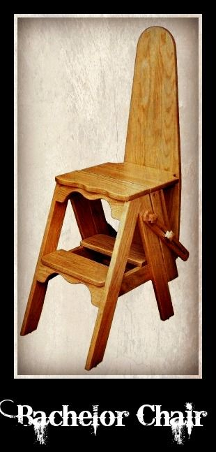 Peachy Its A Step Stool Its An Ironing Board No Its A Chair Creativecarmelina Interior Chair Design Creativecarmelinacom