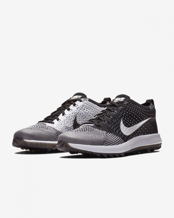 f9f2813e3f2518 Nike Flyknit Racer G Men's Golf Shoe #men #shoes #black #footwear #white