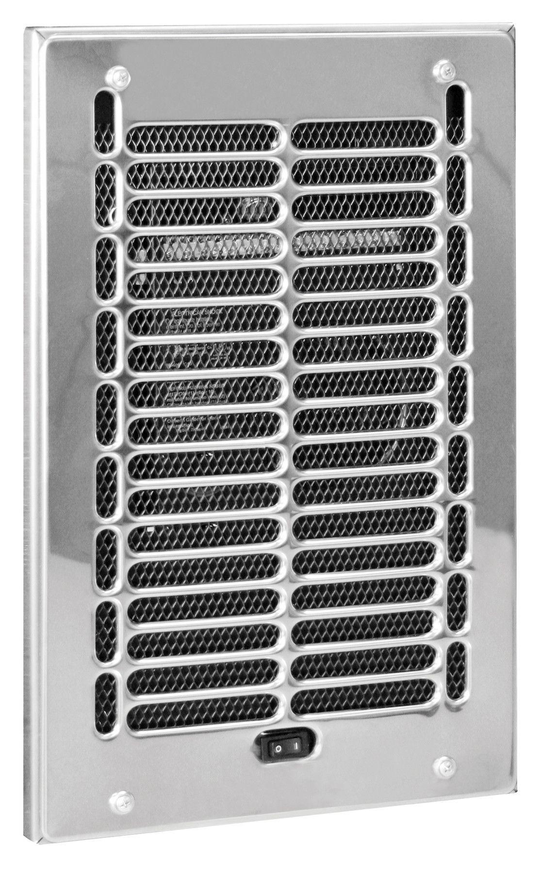 Rbf Series 1000 Watt 120 Volt Electric Wall Fan Heater Bathroom Heater Wall Fans Primitive Bathrooms
