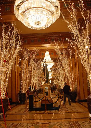 christmas decorations for office lobby google search