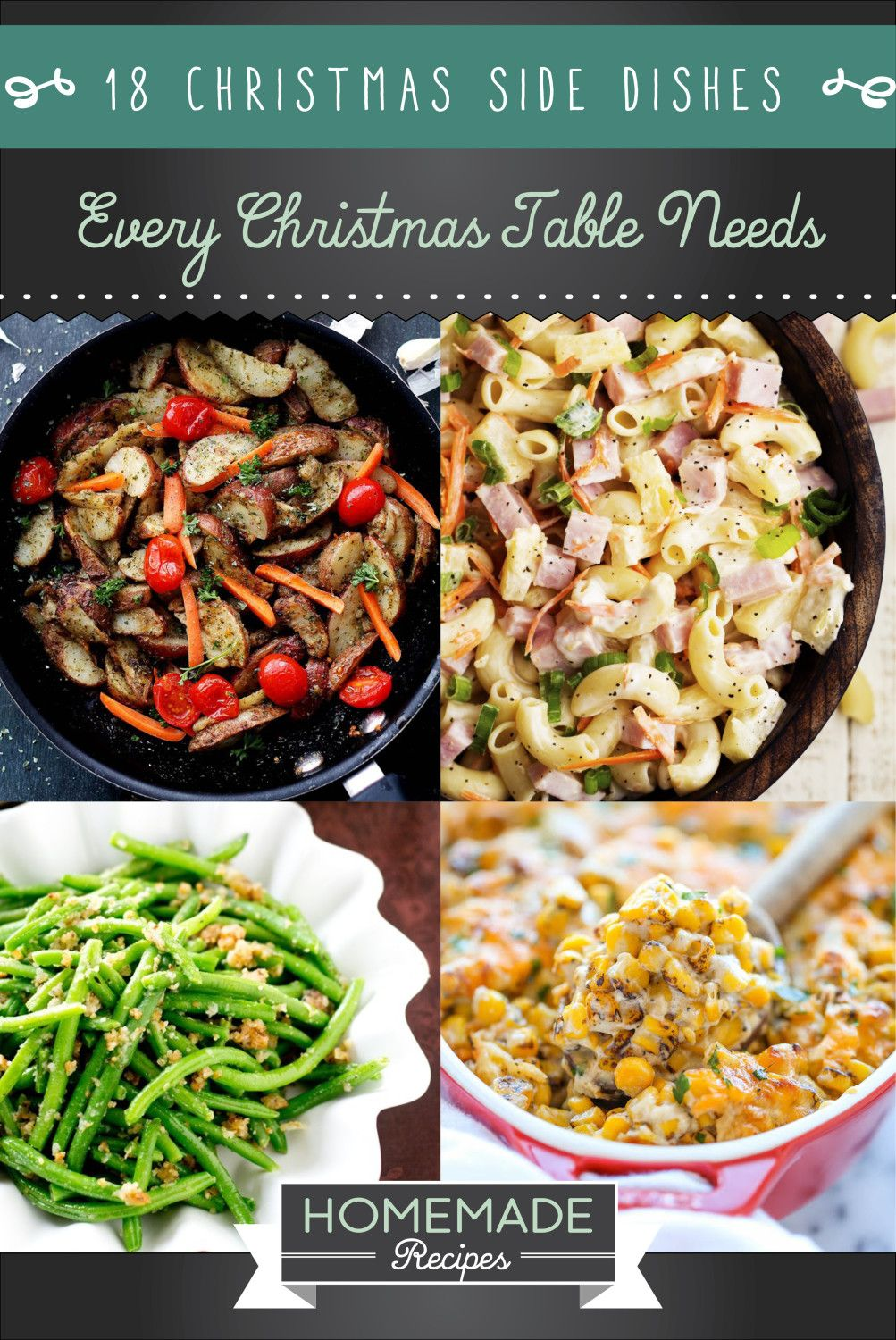 18 christmas side dishes every christmas table needs the best holiday recipes - Christmas Side Dishes Pinterest