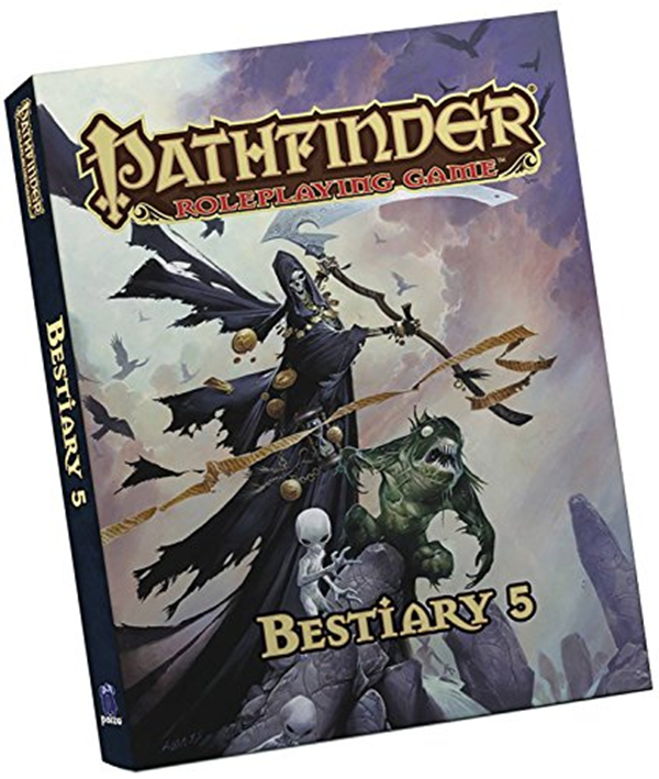 Pathfinder Roleplaying Game: Bestiary 5 Pocket Edition - Mike
