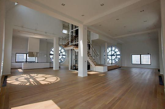 Clock Tower Penthouse in Brooklyn Lofts Google images and