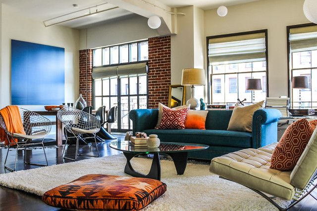 Explore Loft Living Rooms Eclectic Room And More
