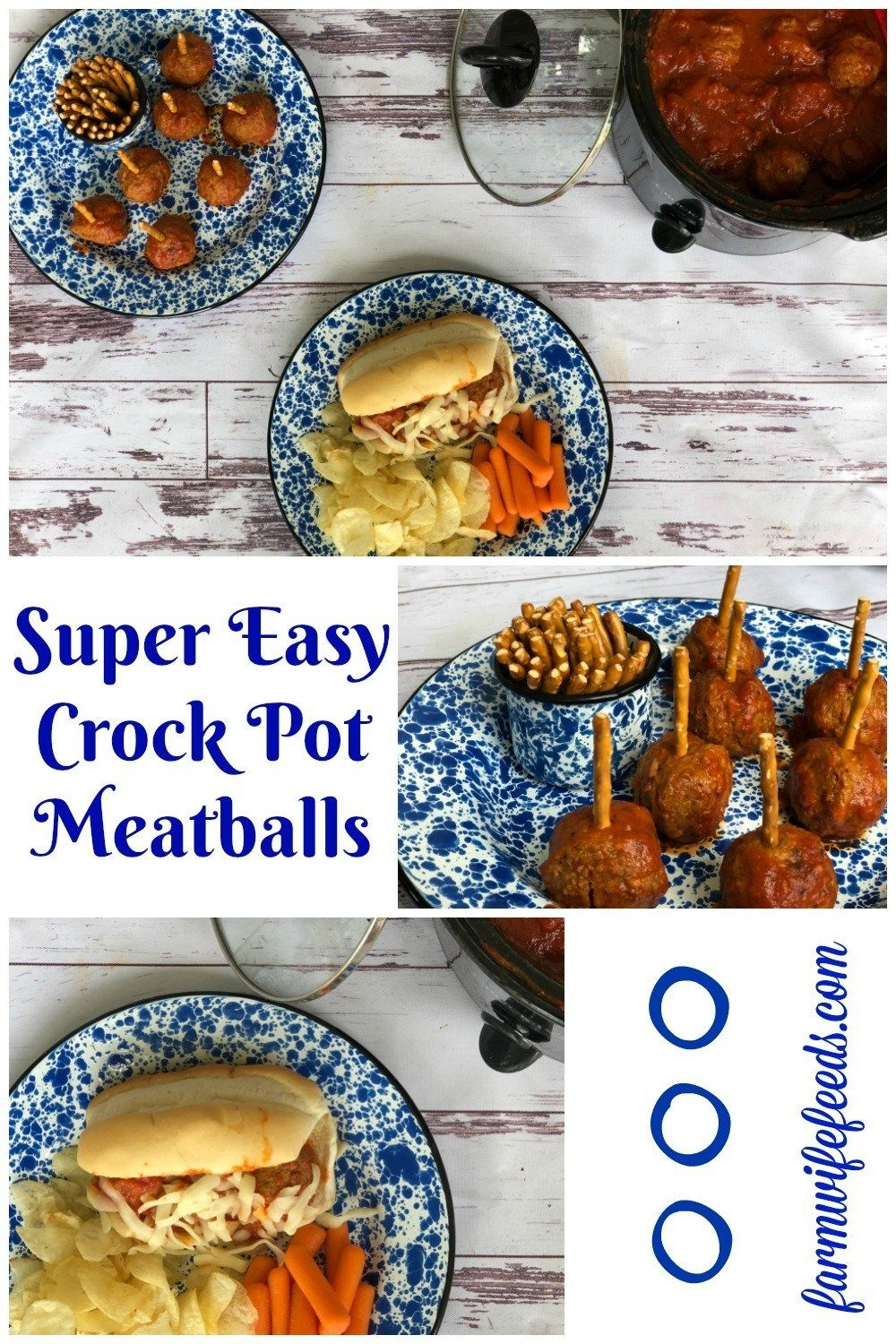 Super Easy Crock Pot Meatballs From Farmwife Feeds Are A Great