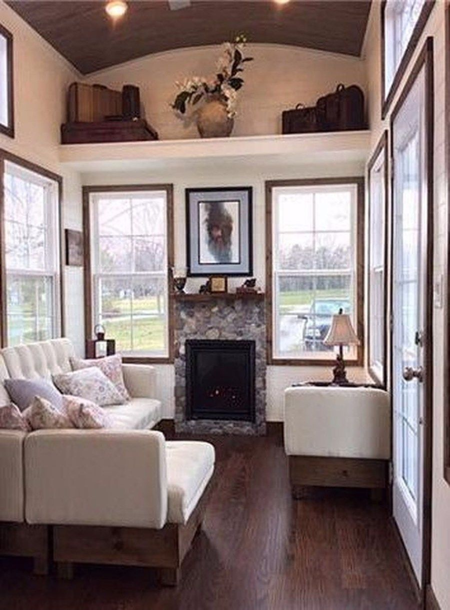 50 Awesome Fireplace Design Ideas for Small Houses Small