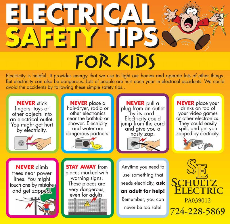 electrical safety tips at home Google Search