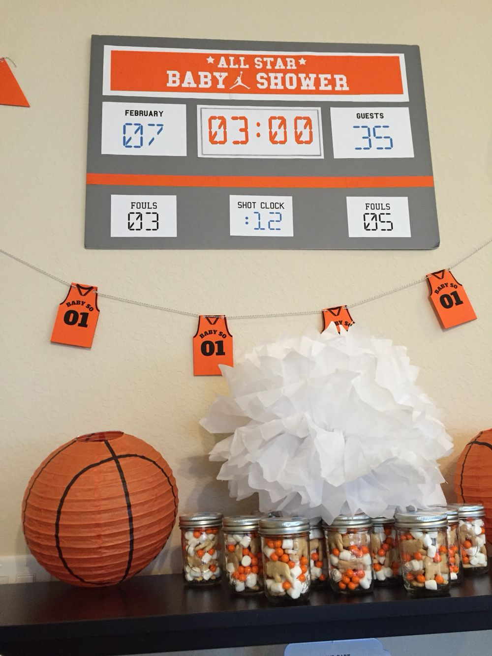Great Basketball Lamb Baby Shower Decorations // Party Kit // Customizable  Downloadable + Printable // By PaperConfete