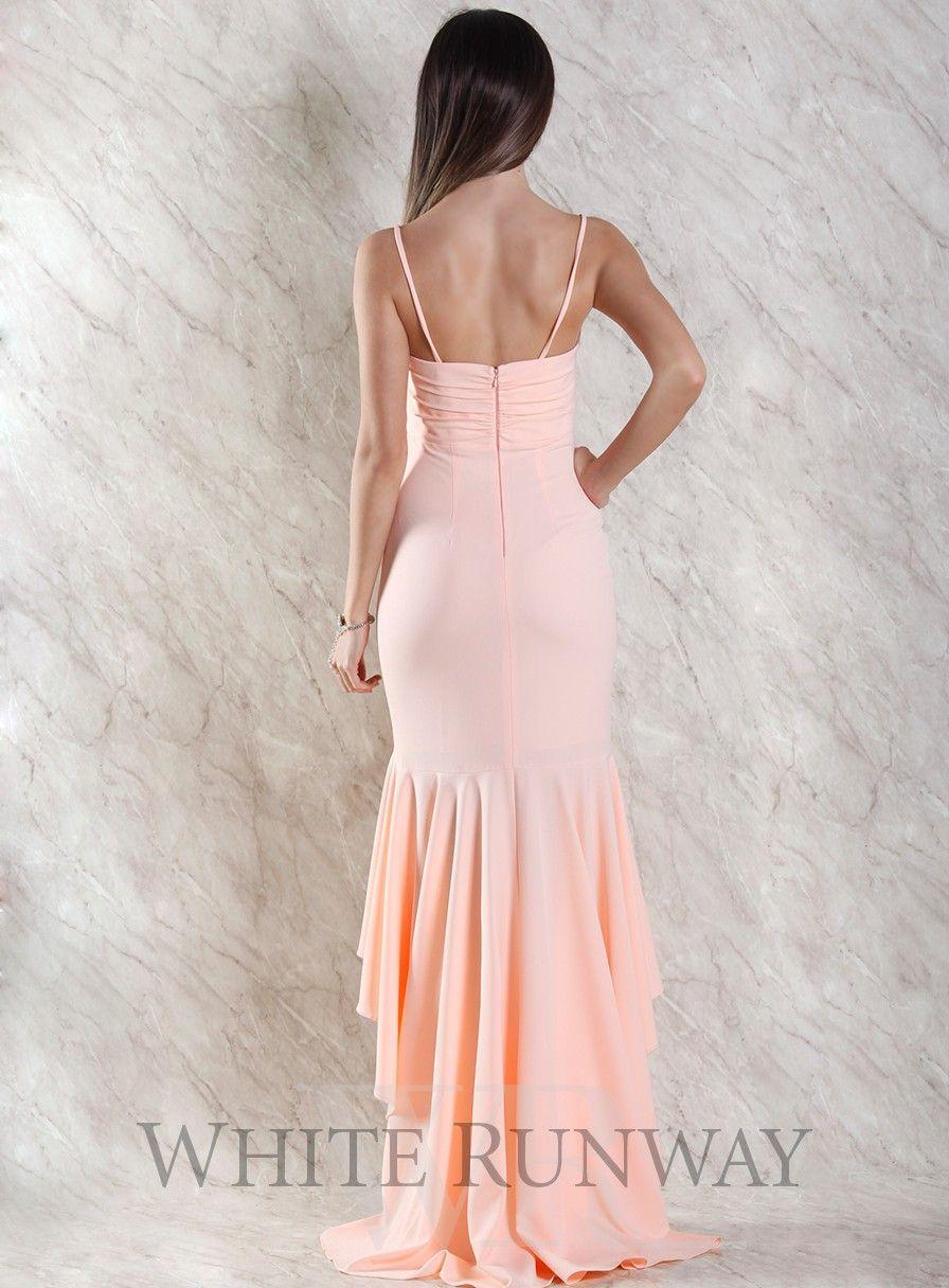 Roze Dress by Leah Da Gloria X White Runway