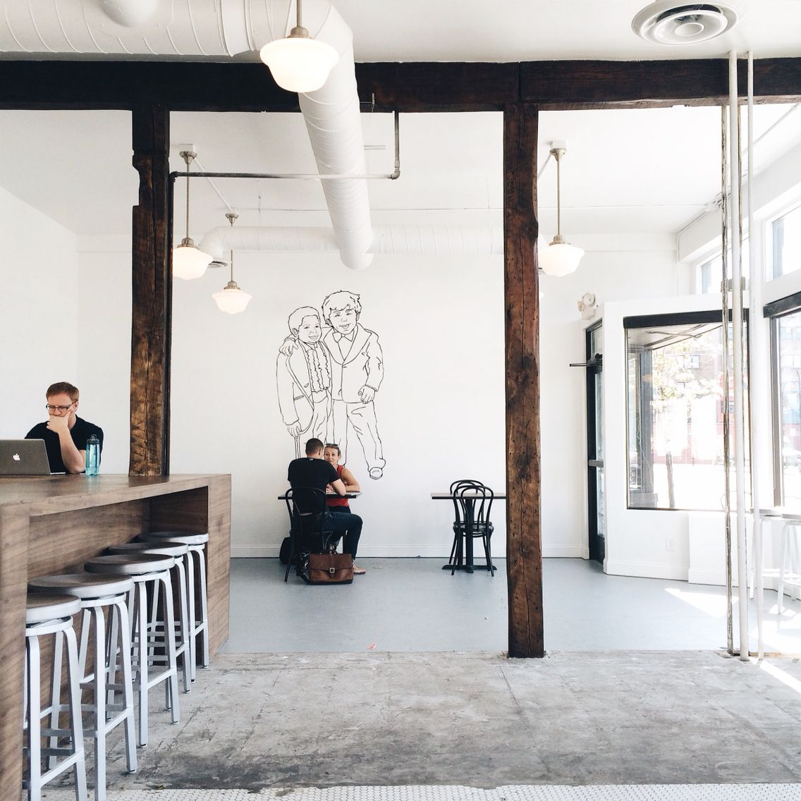 The Newest Urban Bean Coffee Location Uptown Mpls Beautiful Space Exterior Design Interior And Exterior