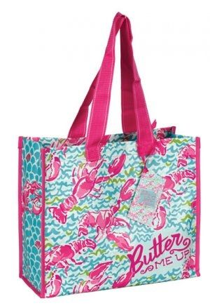 Lilly Pulitzer Lobstah Roll Market Bag
