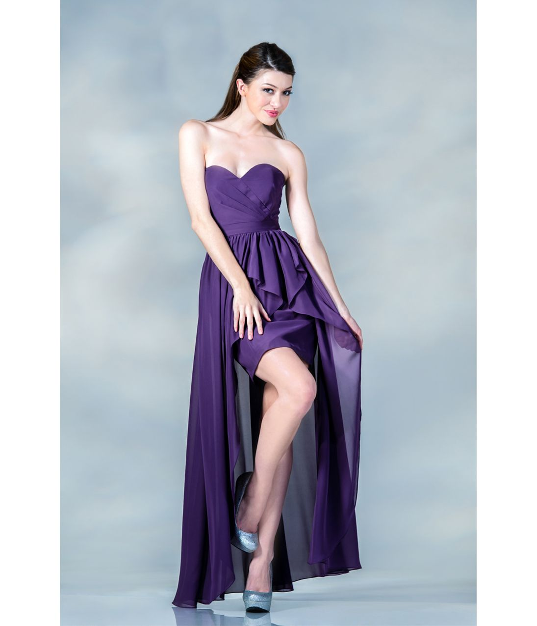 Unique Vintage   High low, Vintage prom and Retro dress