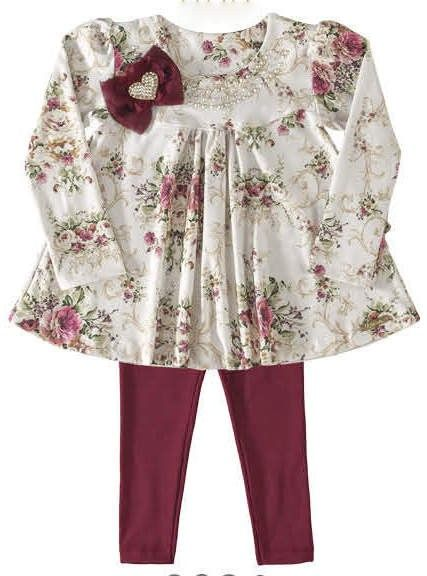 036b7c05b Conjunto de Blusa com Legging 2834 | Dolls | Roupas de inverno ...