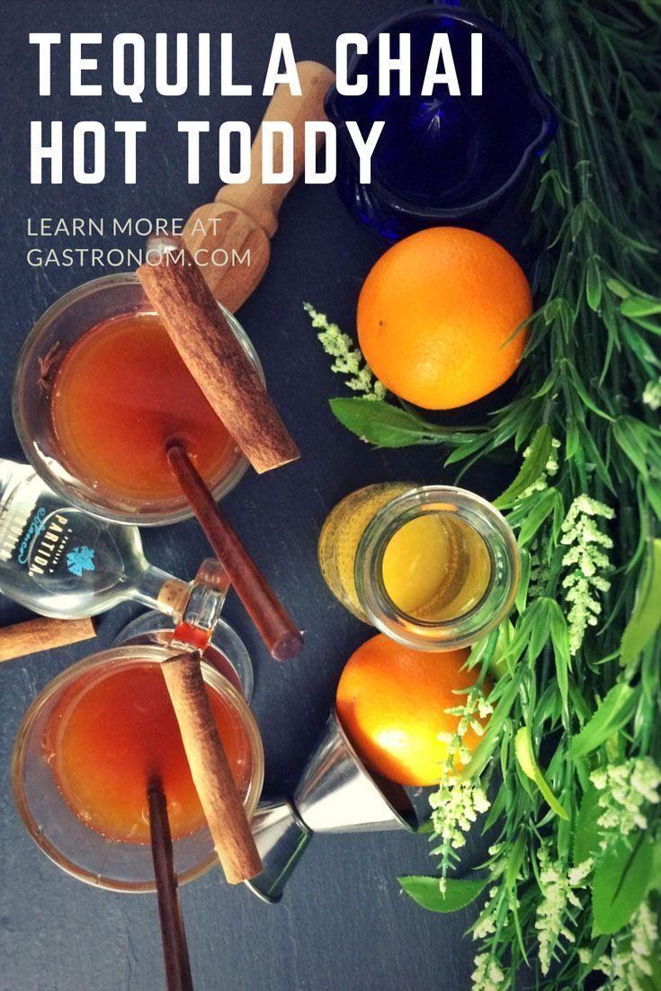Tequila Chai Hot Toddy - Orangensaft, Chai Tee, Honig, Tequila. ...   - DRINKS & COCKTAILS -