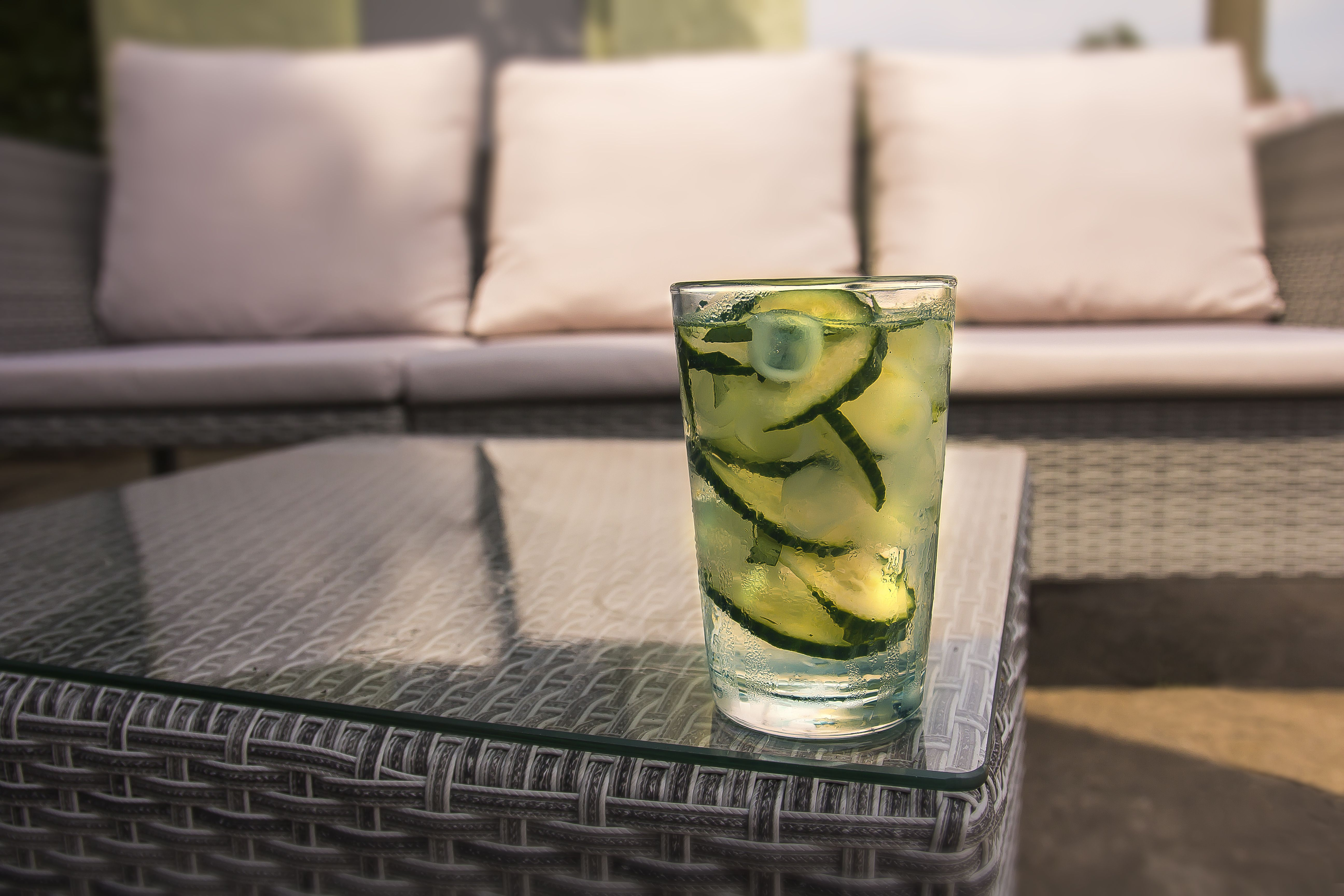 Der anndora Cocktail - erfrischend mit Gurke