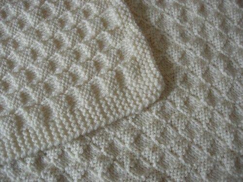 couvre lit au tricot Kit tricot plaid ou couvre lit   exercice 3 spécial débutant  couvre lit au tricot