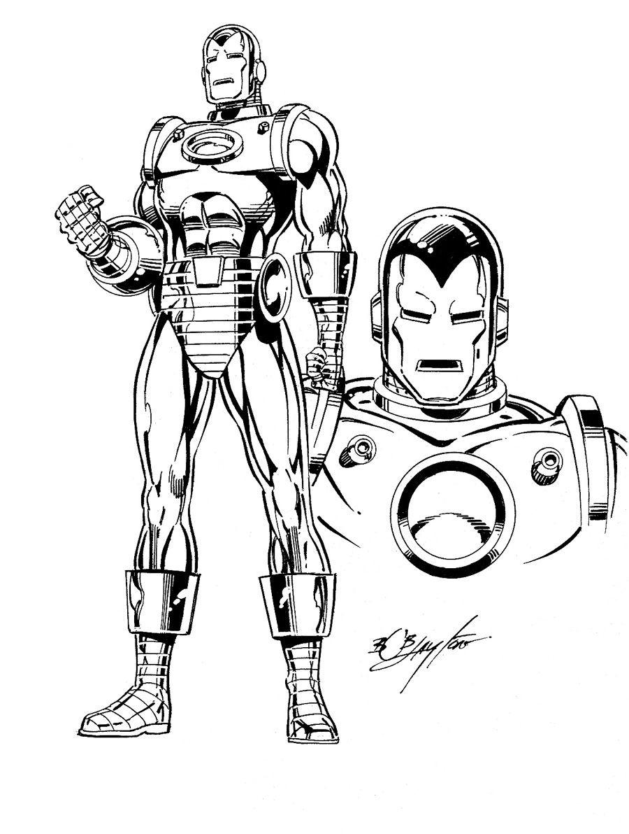 Easy Iron Man Coloring Sheet   Vtwctr