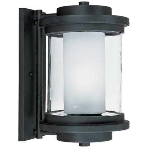 Maxim Lighthouse 15 1 2 H Anthracite Outdoor Wall Light 8m075 Lamps Plus Led Outdoor Wall Lights Wall Lights Outdoor Wall Lantern