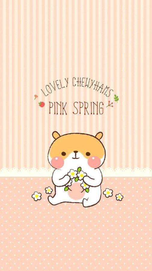 Iphone壁纸 Phone5 来自潘朵拉的云朵 Laurel的图片分享 堆糖网 Hamster Wallpaper Hello Kitty Pictures Cute Cartoon Animals
