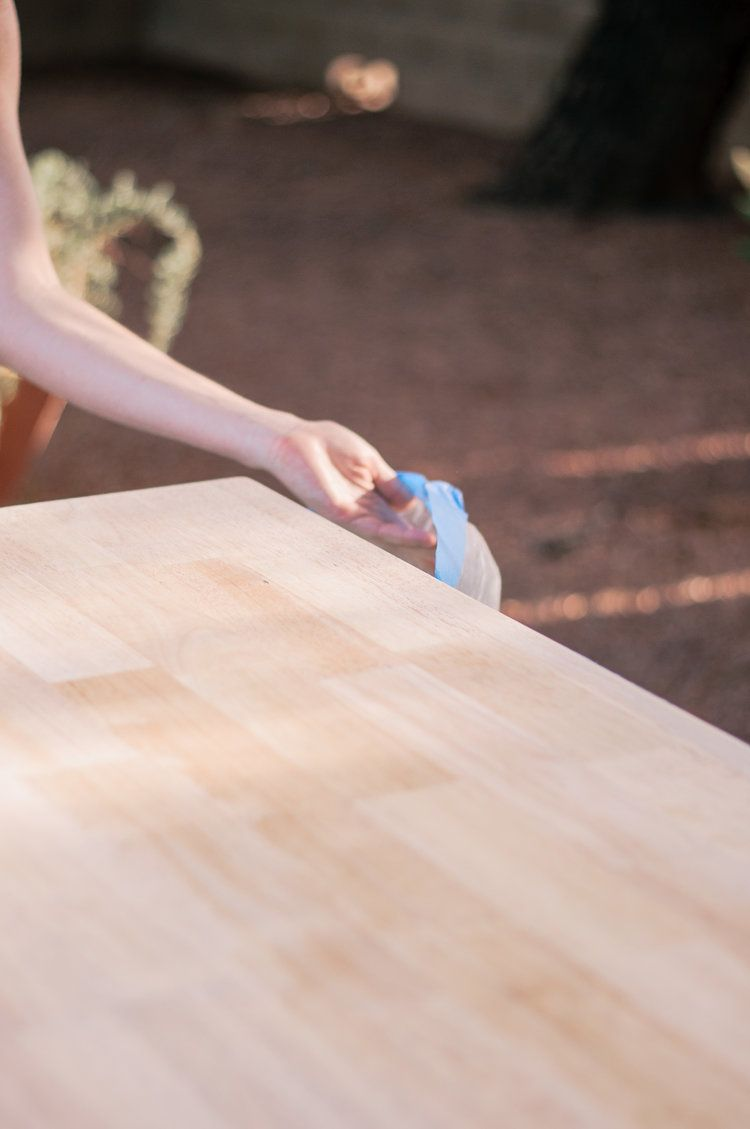 How To Get Nail Polish Remover Stain Off Wood Table
