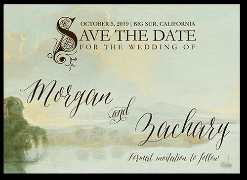 Fairy Tale Save The Dates Fairytale wedding invitations