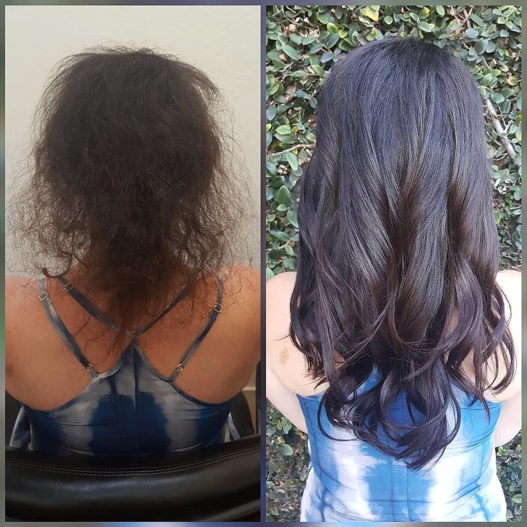 Before After What A Difference Hairgoals Hairextensions