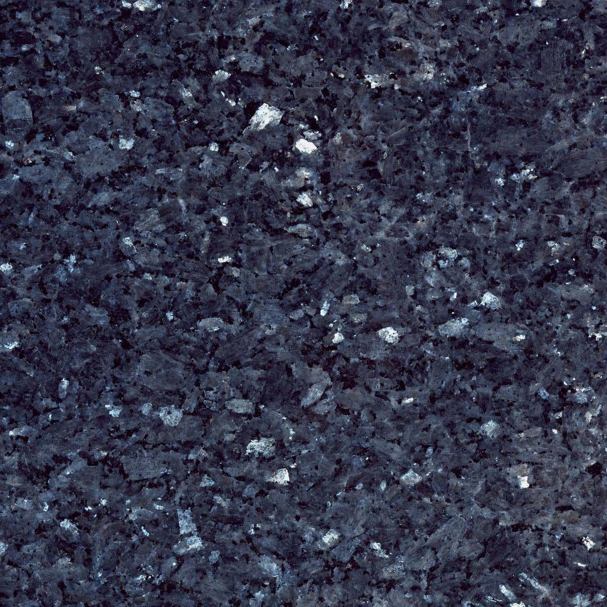 Granite With Large Flecks Of Dark And Light Blue White