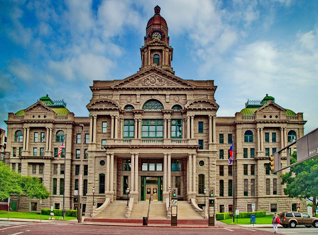 Tarrant County Courthouse in Fort Worth | Deep In My Texas Heart ...