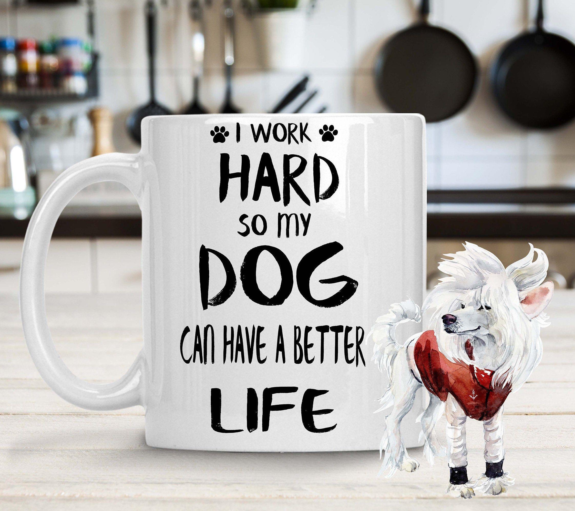 Chinese crested dog mug dogs lovers custom mugs dogs breeder custom Mug
