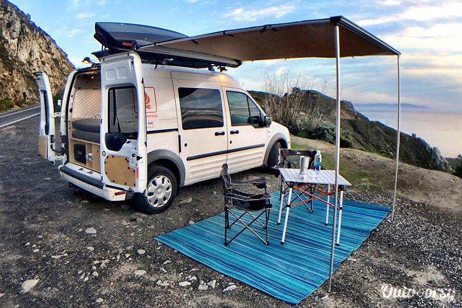 2013 ford transit connect xlt motor home camper van rental