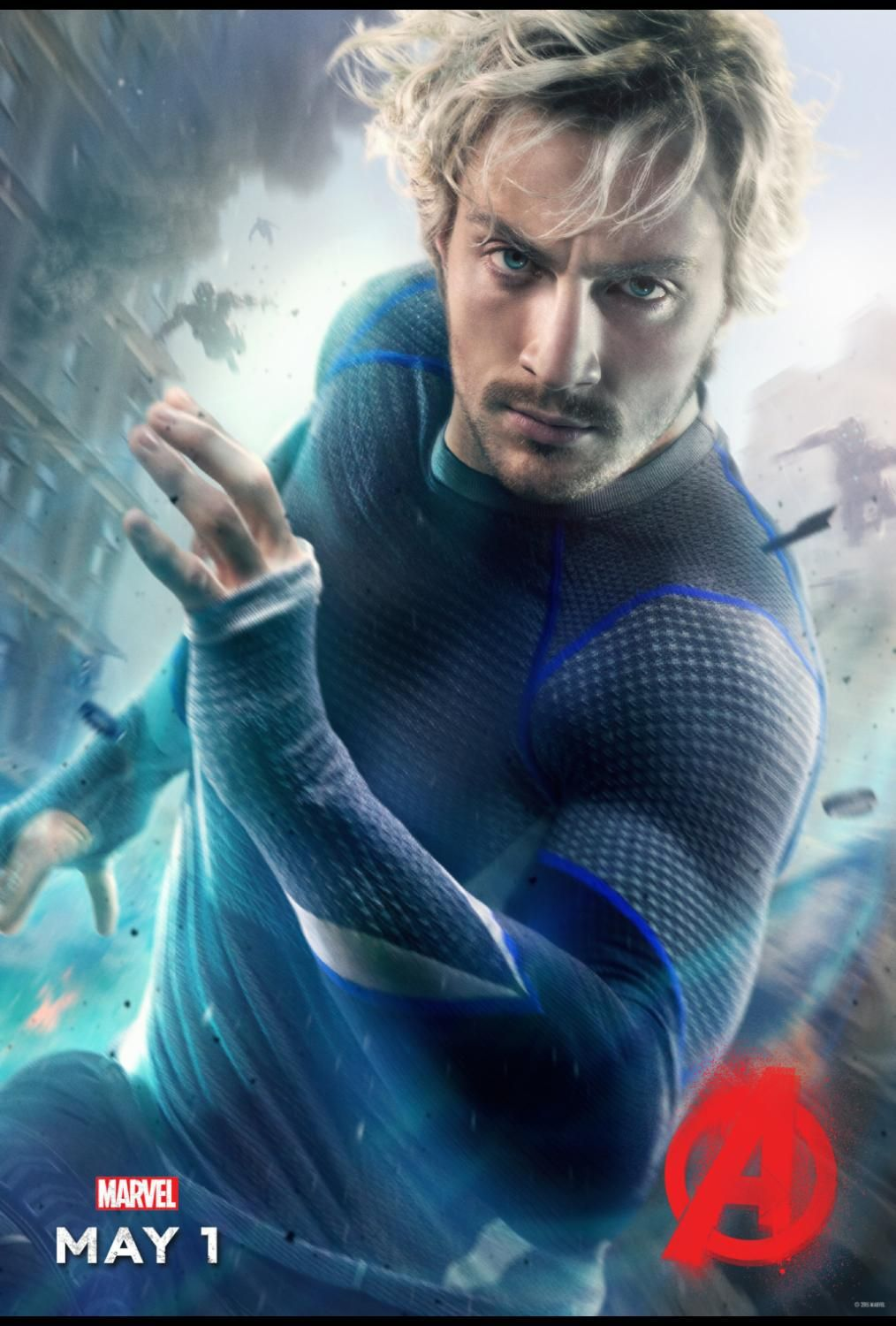 Exclusive Interview Talking Quicksilver And Scarlet Witch With