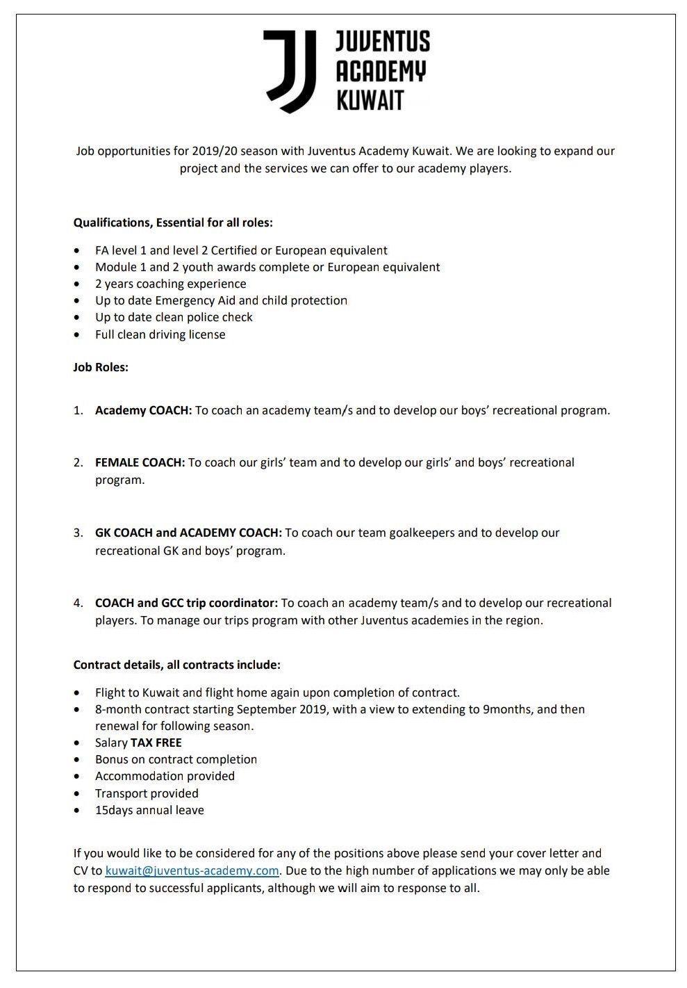British Football Coaches Network Forum Coaching British Football Job Opportunities