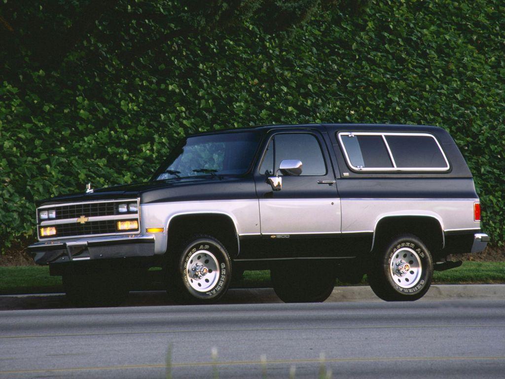 K5 Chevy Blazer 1989 91 Chevrolet K5 Blazer 1988 91 Chevy