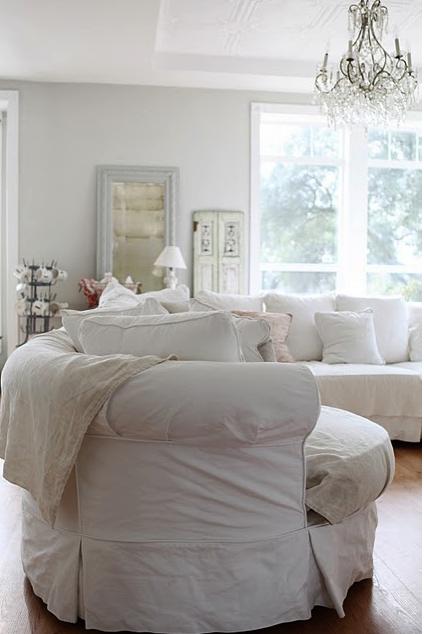 Shabby chic lounge idea d co d 39 int rieur que j 39 adore - Decoration shabby en ligne ...