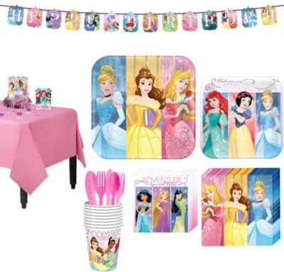 Shop For Disney Princess Tableware Party Kit 8 Guests And Other Supplies Online At PartyCity Save With City Coupons